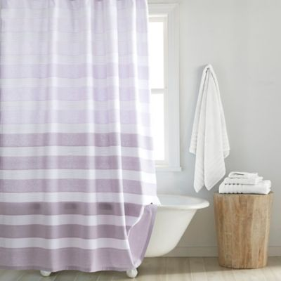 Buy Croscill Highline Shower Curtain In Purple From Bed Bath Amp Beyond