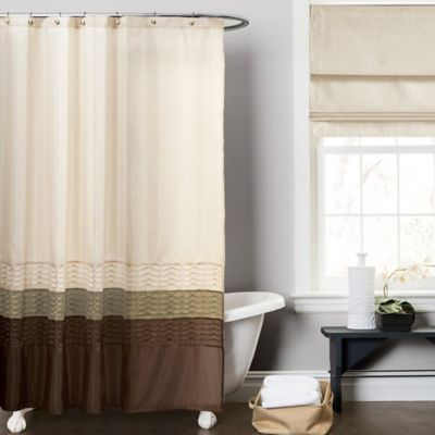 Buy Mia Green And Brown 72 Inch X 72 Inch Shower Curtain From Bed Bath Amp Beyond