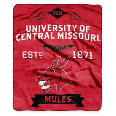 Buy NCAA University Central Missouri State Super Plush