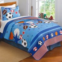 Sports and Stars Quilt Set - Bed Bath & Beyond