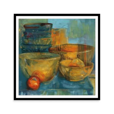 Red and Green Fruit II Framed Wall Art