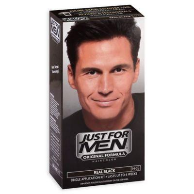 men shampoo hair color