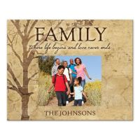Family Tree Love Never Ends Canvas Wall Art - buybuy BABY