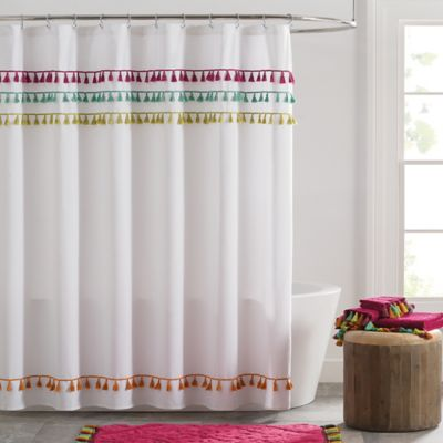 Tassels Shower Curtain  Bed Bath  Beyond