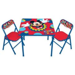 Mickey Mouse Chairs And Table Portable High Chair Chicco 3-piece Activity Set - Bed Bath & Beyond