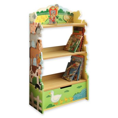 Teamson Fantasy Fields Happy Farm Bookshelf Buybuy Baby