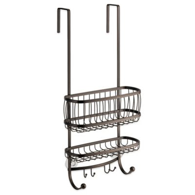 Buy InterDesign York Over Door Shower Caddy in Bronze