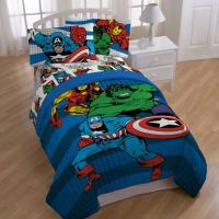 "Marvel Comics ""Good Guys"" Reversible Comforter - Bed Bath ..."