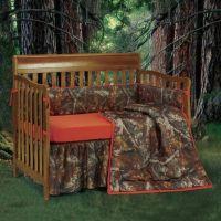 Crib Bedding Sets > HiEnd Accents Oak Camo 3-Piece Crib ...
