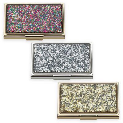 Kate Spade New York Simply Sparkling Glitter Card Holder