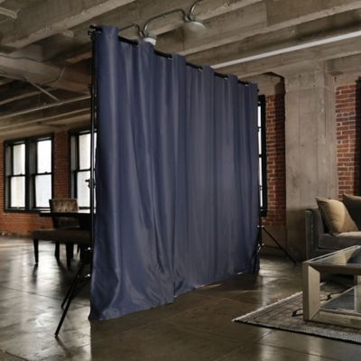 RoomDividersNow Freestanding Room Divider Kit with 8Foot