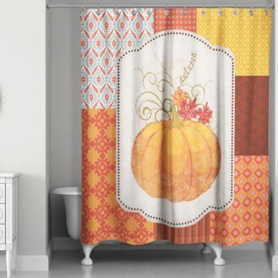 Autumn Pumpkin Shower Curtain Bed Bath Amp Beyond