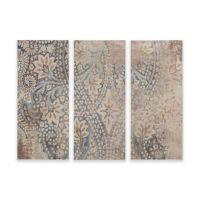Madison Park Weathered Damask Walls Print on Linen Wall ...