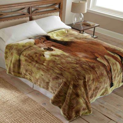 Hi Pile Luxury Oversized Horse Blanket  Bed Bath  Beyond