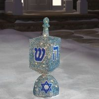 Hanukkah Decorations - Hanukkah Dreidel, Lights & Outdoor ...