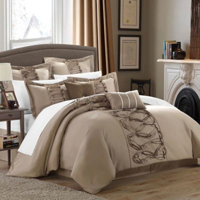 Chic Home Rossana 8 Piece Comforter Set Bed Bath Amp Beyond