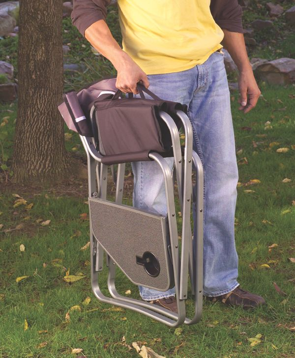 coleman deck chair with table elite robo pad massage review aluminum 20deck 20chair
