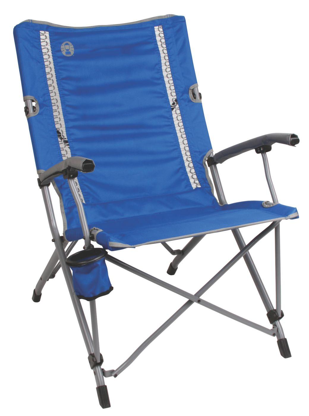coleman folding chairs dental chair dwg camping comfortsmart interlock suspension