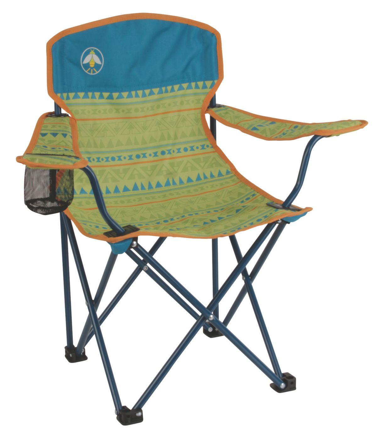 kitchen chair seat replacement modern island lighting coleman® kids quad | coleman