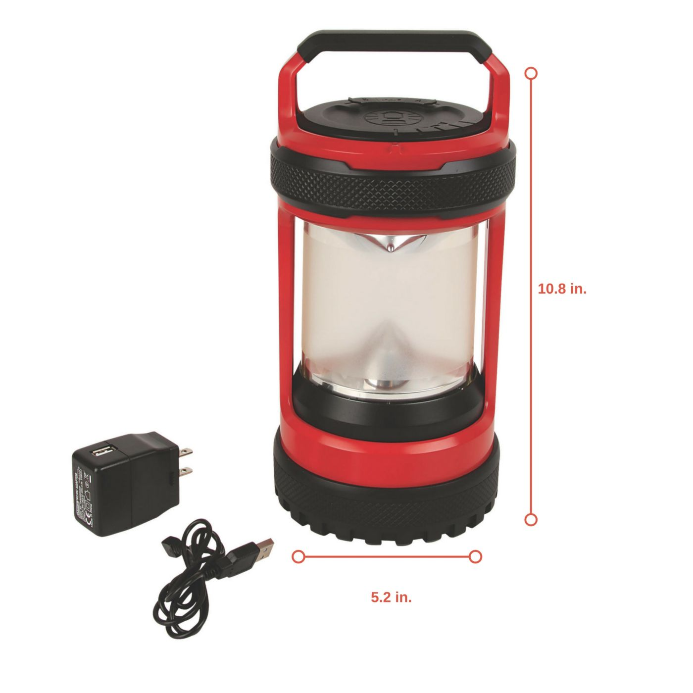 Conquer Spin 550l Rechargeable Led Lantern Coleman