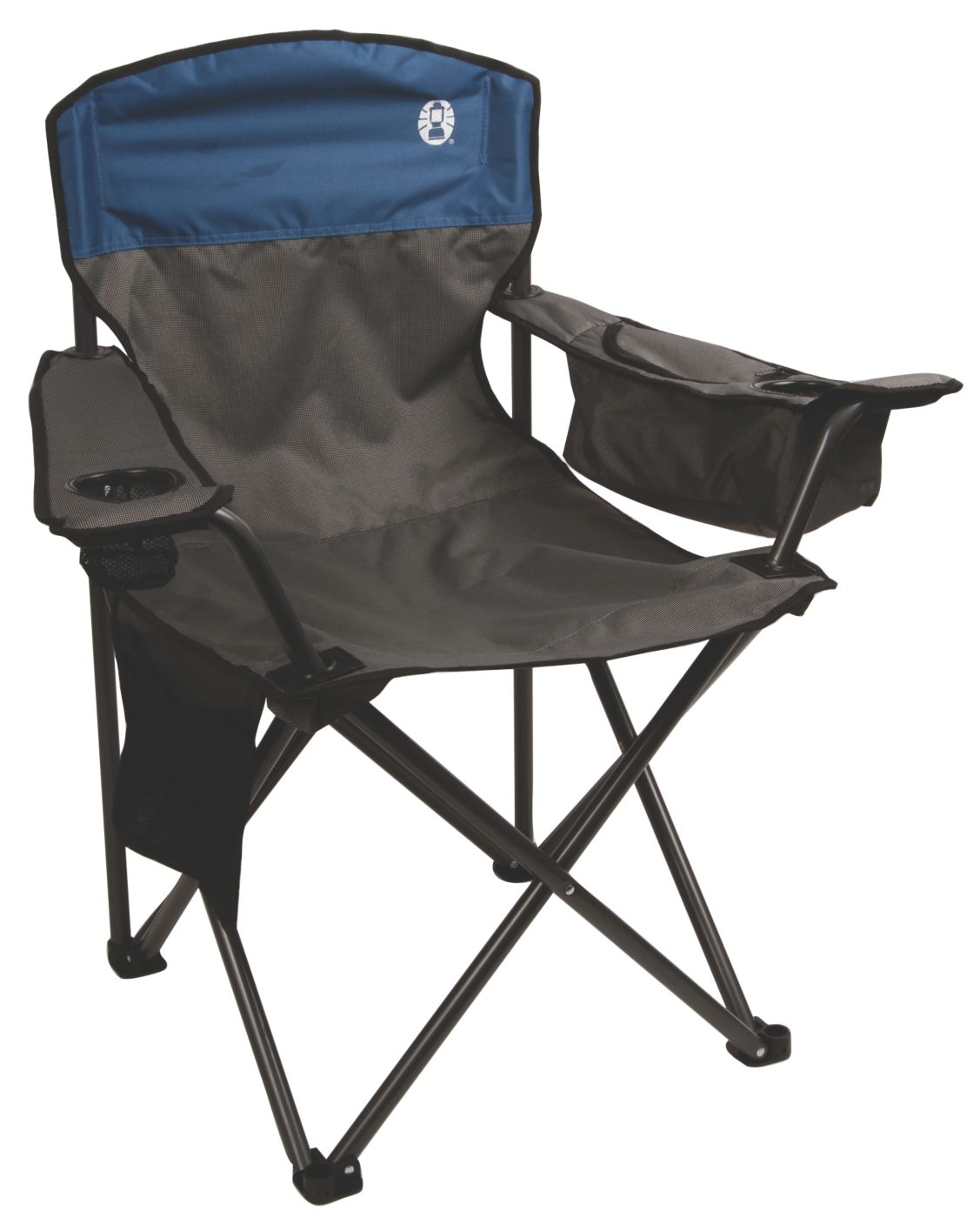 coleman oversized quad chair with cooler pouch sleepy hollow furniture and games