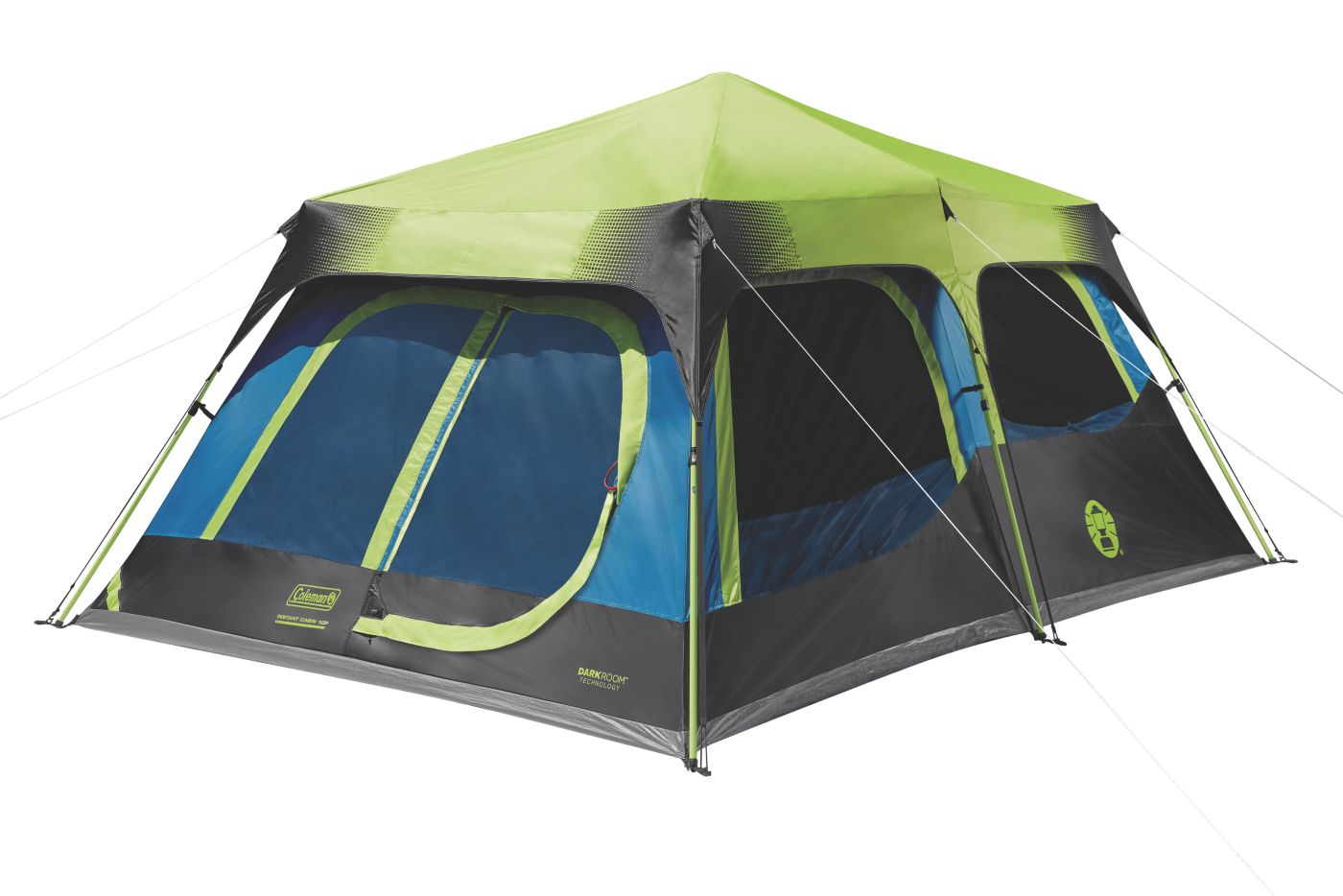 10-person Dark Room Instant Cabin Tent With Rainfly Coleman