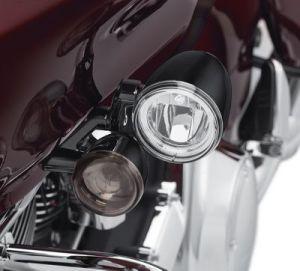 Road Glide LED Fog Lamp Mount Kit  Gloss Black | 2016