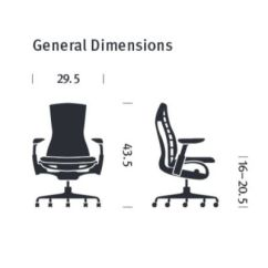 Office Chair Diagram Dining Chairs At Pier One Herman Miller Embody Yliving Com