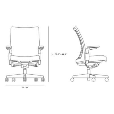 office chair diagram diy bean bag tutorial knoll remix yliving com