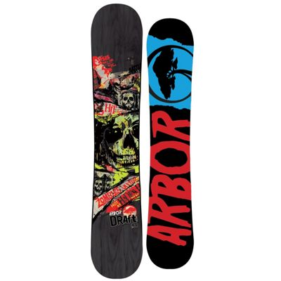 Arbor Draft Snowboard 155 2012- Men' - Moosejaw