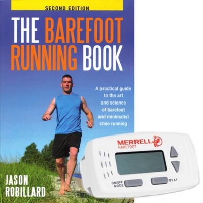Merrell Barefoot Metronome And Running Book - Moosejaw