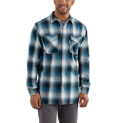 Carhartt Men' Trumbull Snap Front Plaid Shirt - Moosejaw