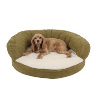 Carolina Pet Company Sage Green Orthopedic Bolster