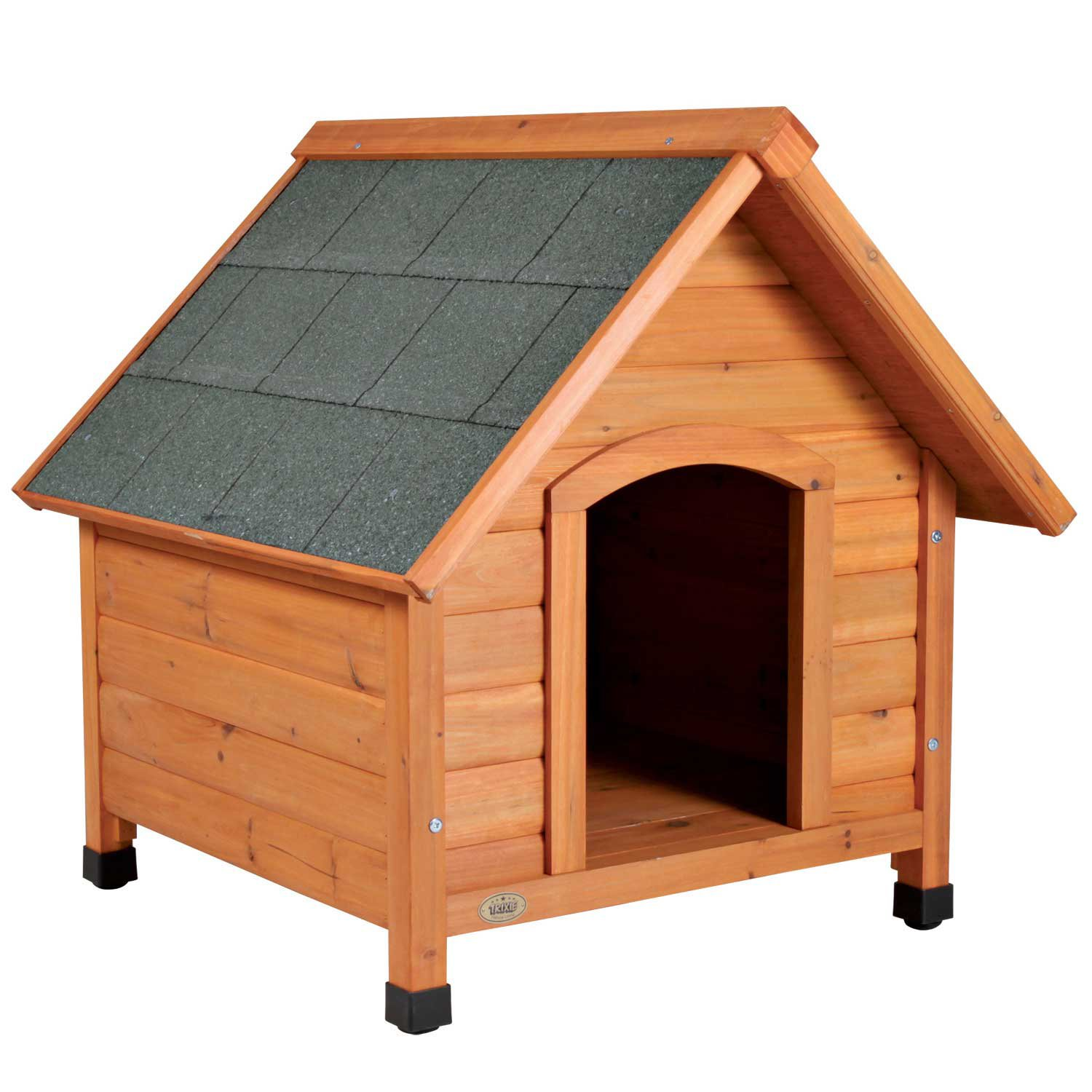 Trixie Natura Pitched Roof Dog House  Petco