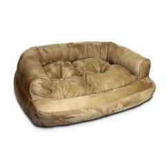 Cat Tunnel Sofa Price U Sovesofa Laeder Snoozer Luxury Overstuffed In Peat Petco