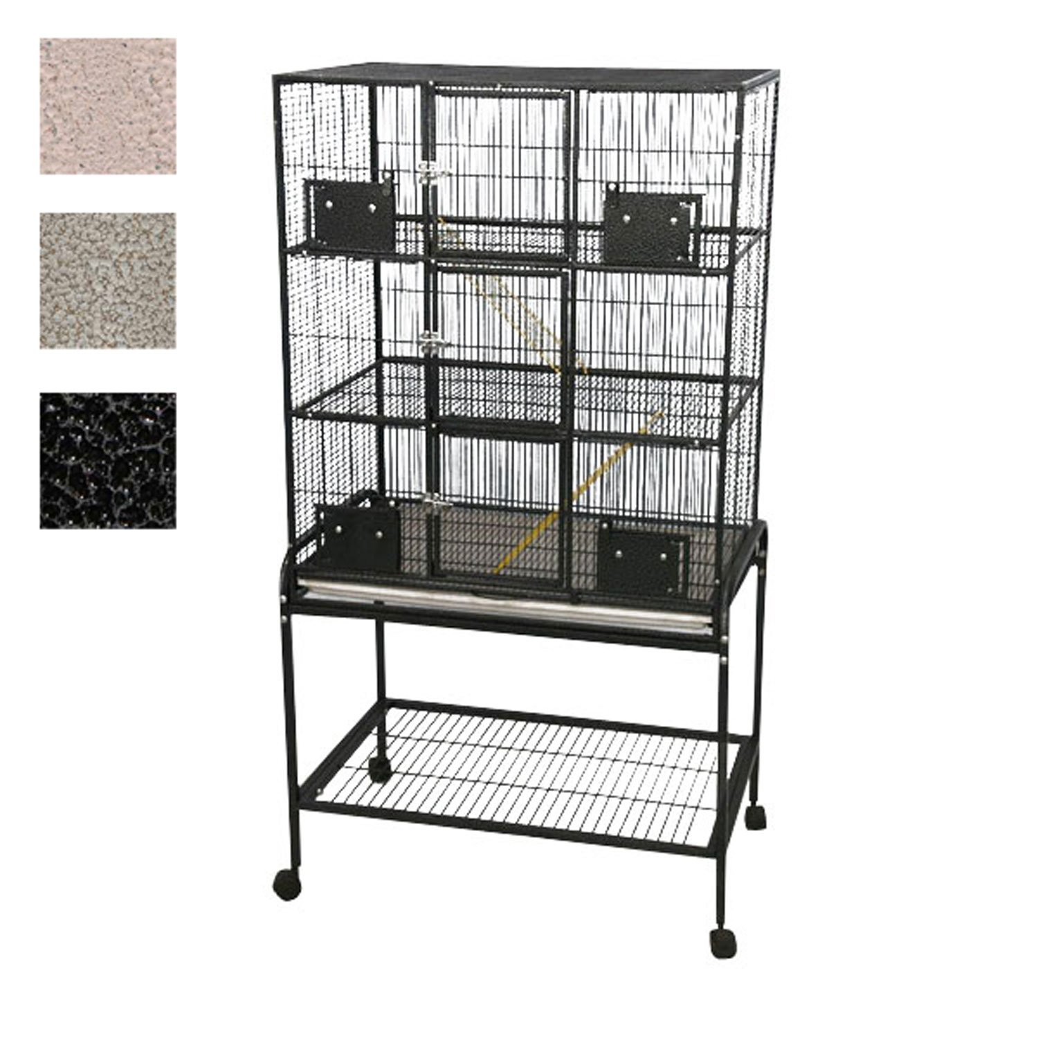 A&E Cage Company 3 Level Small Animal Cage with Removable