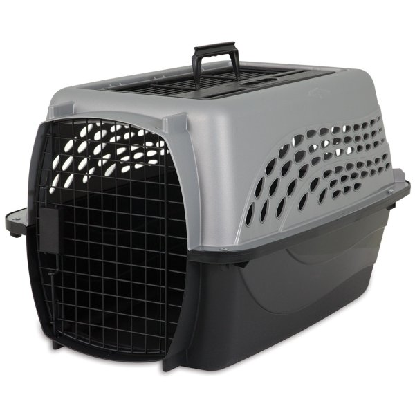 Two-Door Top Load Pet Kennel Petmate Cat Carriers