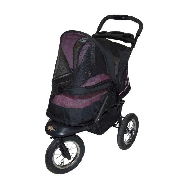 Pet Gear Nv -zip Stroller In Rose Petco