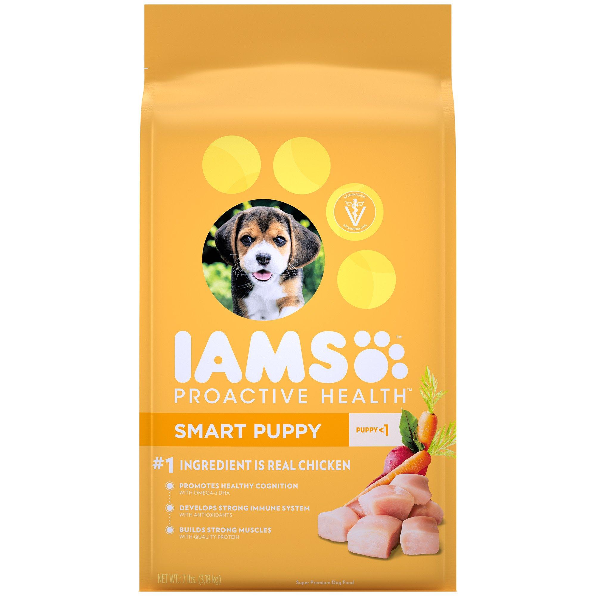Iams proactive health smart puppy original food also petco rh