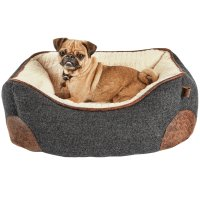 Harmony Grey Nester Memory Foam Dog Bed | Petco