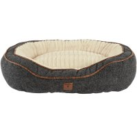 Harmony Grey Cuddler Memory Foam Dog Bed | Petco