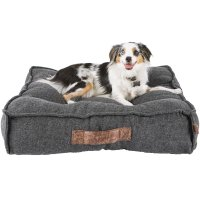 Harmony Grey Lounger Memory Foam Dog Bed | Petco