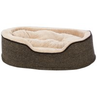 Harmony Cuddler Orthopedic Dog Bed in Tweed   Petco