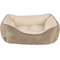 Harmony Khaki Nester Dog Bed | Petco