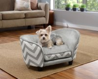 Enchanted Home Pet Grey Chevron Ultra Plush Snuggle Pet ...