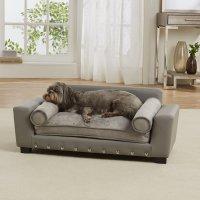 Enchanted Home Pet Grey Scout Pet Sofa | Petco