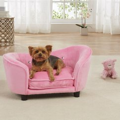 Fleas In Sofa No Pets Compact Full Sleeper Enchanted Home Pet Light Pink Ultra Plush Snuggle