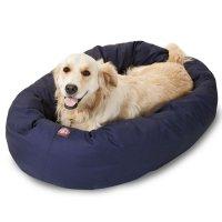 Majestic Pet Blue Bagel Bed | Petco