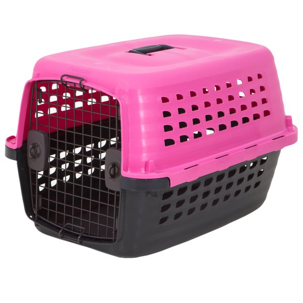 Petmate Compass Kennel Pink Petco