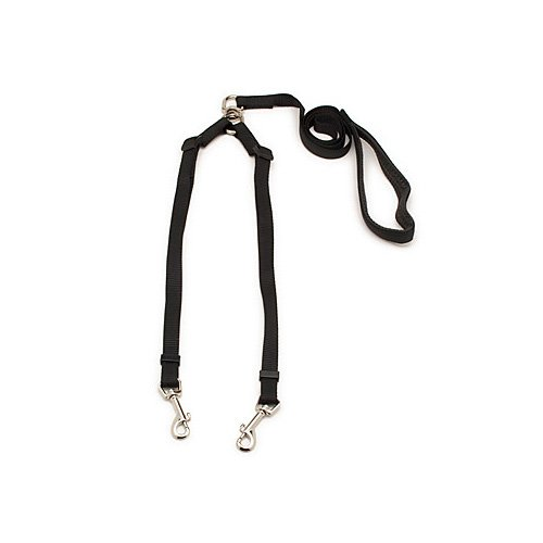 Aspen Pet by Petmate Take Two Adjustable Leash in Black, 5